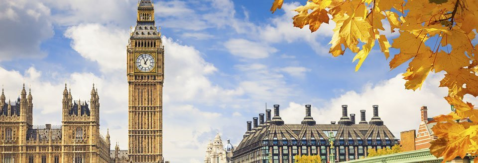 Find en billig flybillet til London